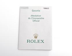 ロレックス 国際保証書 紙タイプ